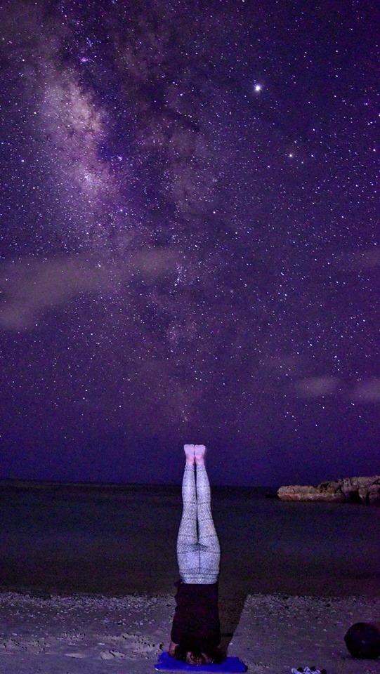 宮古島の天の川銀河