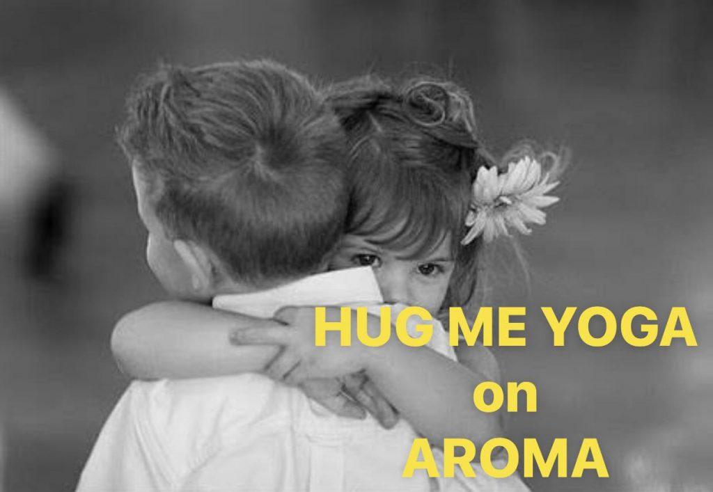 HUG ME YOGA子どもハグ写真